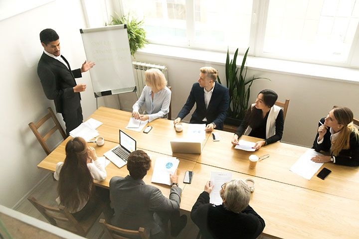 Definir objetivos para organizar eventos